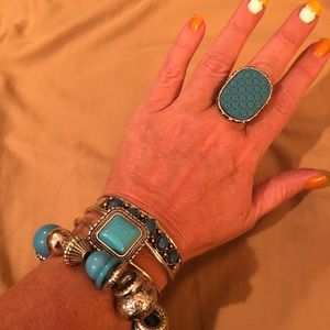 Jewelry - 4 Pcs Turquoise Jewelry